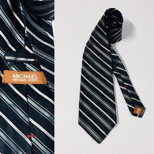 MICHAEL KORS Necktie Made in USA 100% Silk